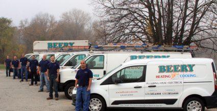 Beery's vehicle fleet