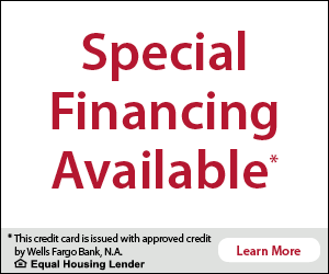 Finance your service call through Wells Fargo